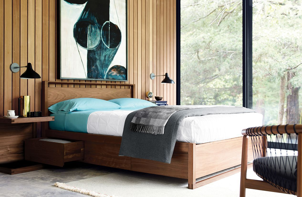 Matera Bed With Storage Design Within