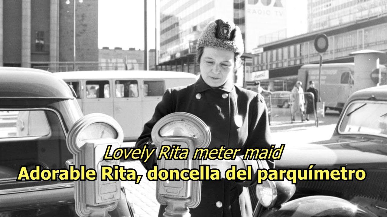 Lovely Rita The Beatles Lyrics Letra Original Youtube