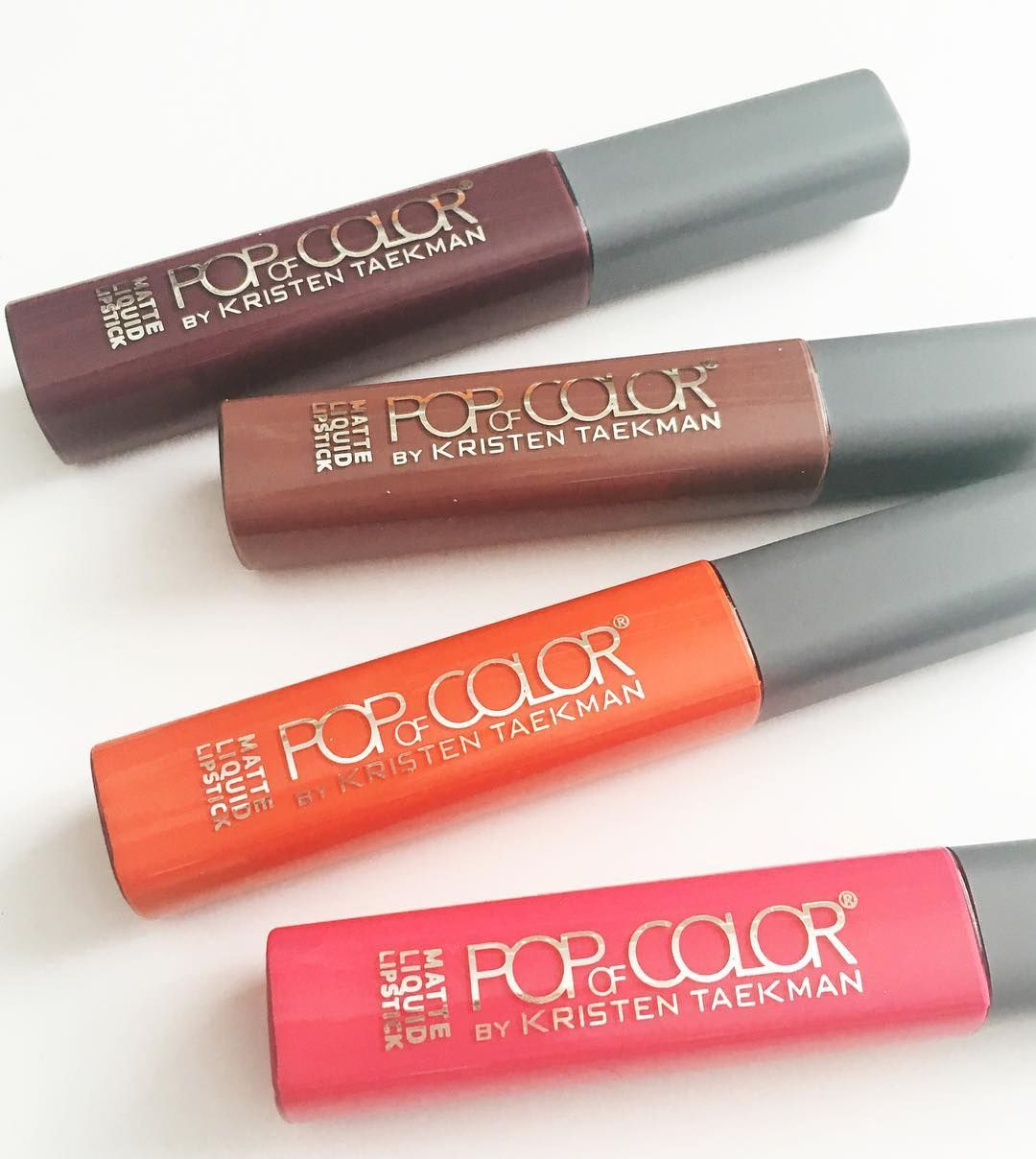 Liquid matte lipstick from Pop of Color by Kristen Taekman