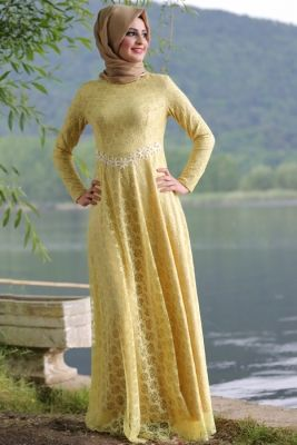 Tesettur Abiye Elbise Modelleri Islami Moda Elbise Elbiseler