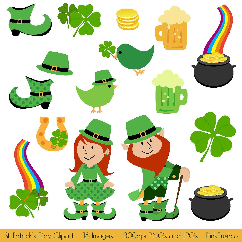 St Patrick S Day Clipart Clip Art St Patricks Clipart Etsy St Patricks Day Clipart Saint Patricks Day Art St Patrick