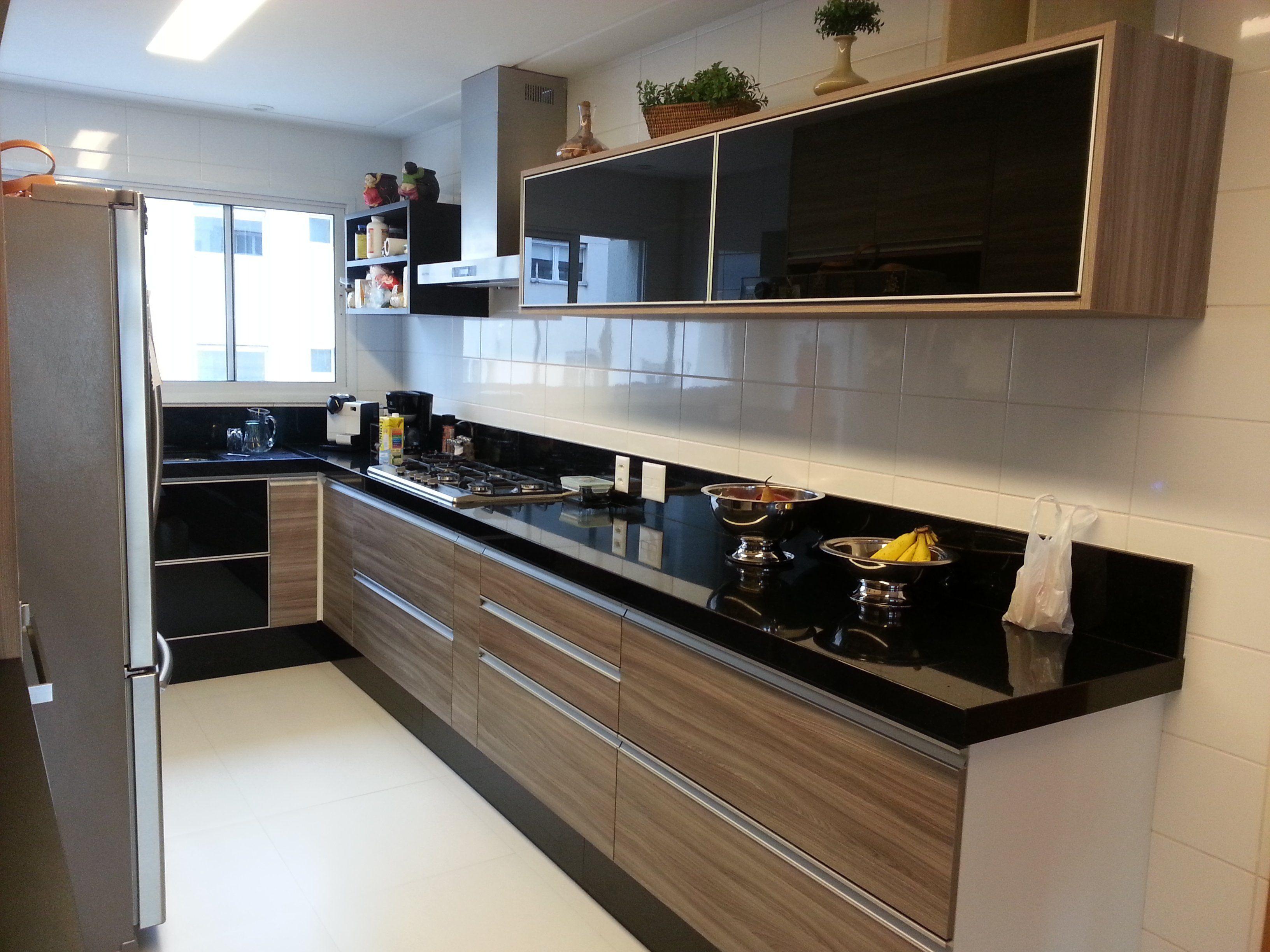 Resultado De Imagem Para Cozinha Planejada Em L Vermelha Cozinha
