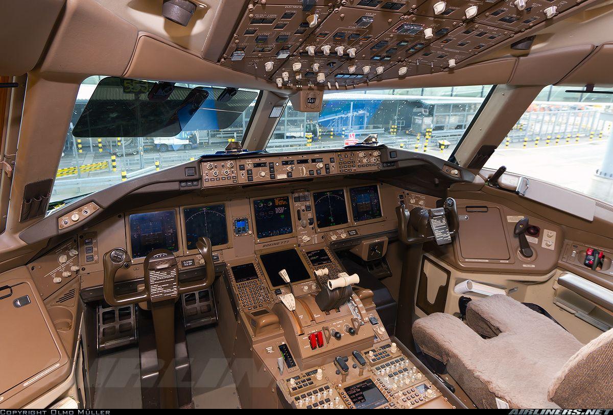 british airways boeing 777 336 er cockpit all things aviation rh pinterest com