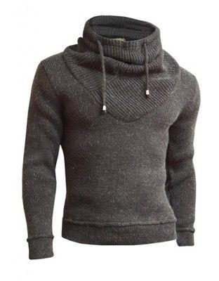 Gruby Sweter Japan Style Stojka Komin Nowosc M 4970406056 Oficjalne Archiwum Allegro Sweaters Hoodies Fashion