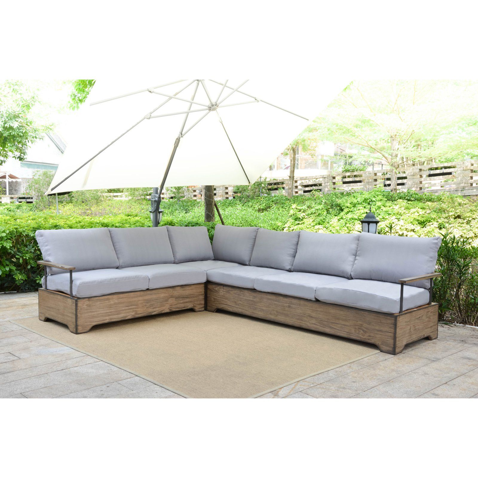 Fine Outdoor Belham Living Brevick Deep Patio Seating Sectional Camellatalisay Diy Chair Ideas Camellatalisaycom