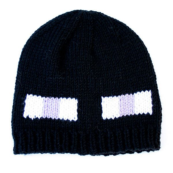 Enderman hat : free pattern at www.knitca.com | Loom Knitting ...