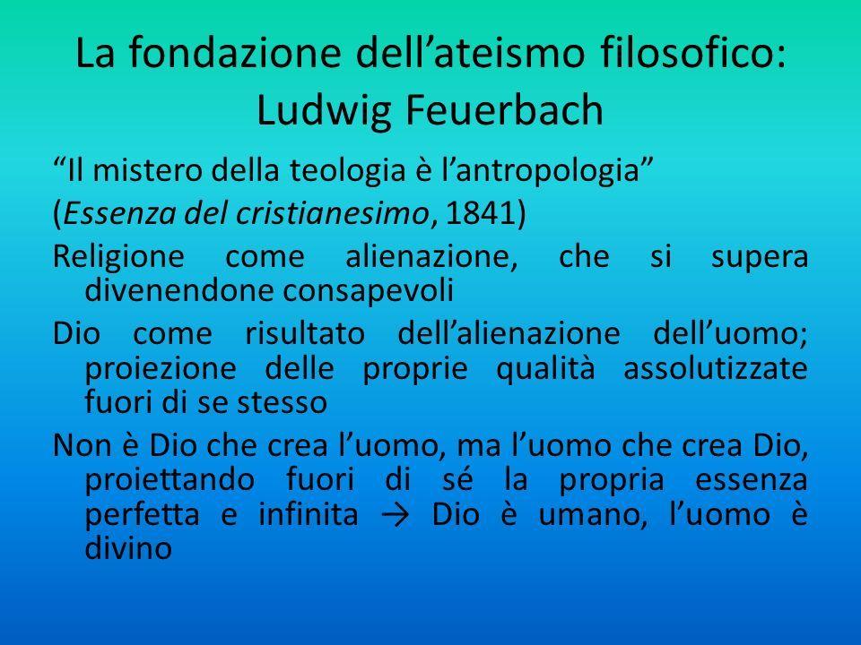 Risultati immagini per Ludwig Feuerbach religione