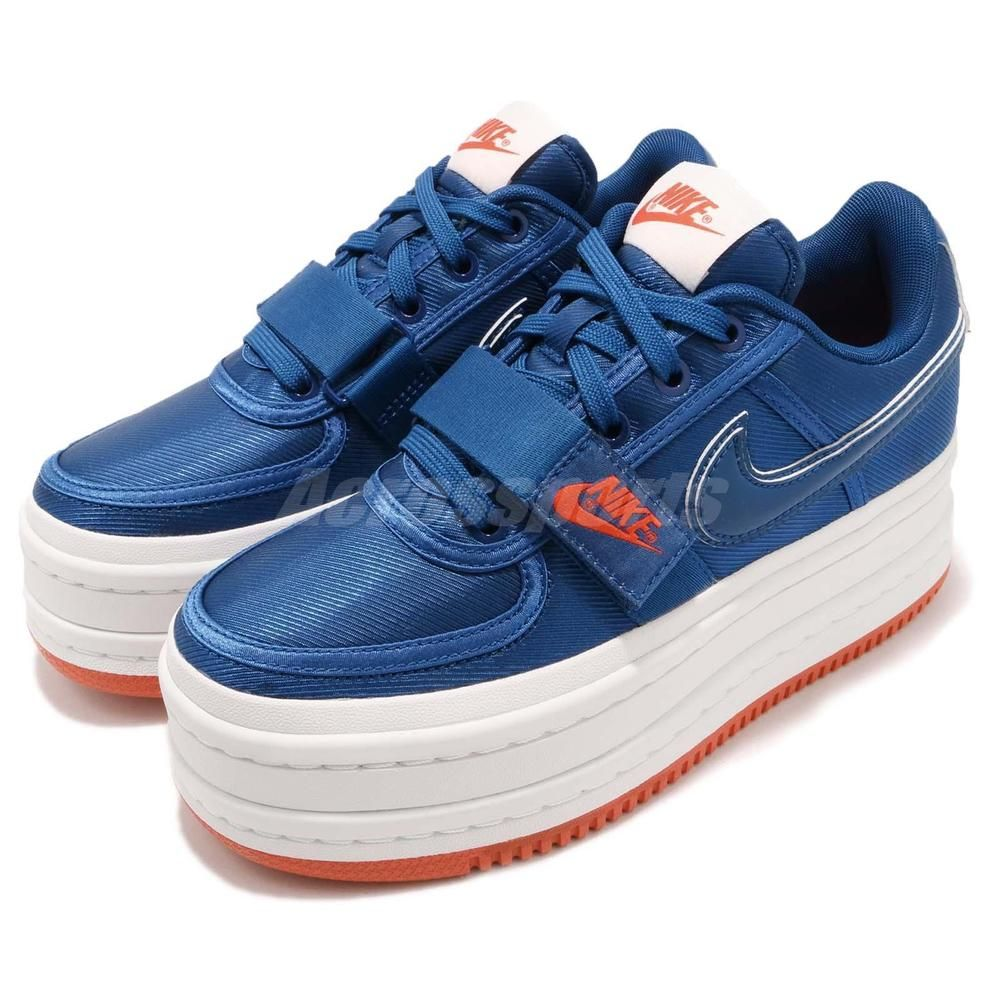 83df5aebcd06 Nike W Vandal 2X Doublestack Surprise Gym Blue White Women Platform  AO2868-400