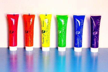 Värillinen UV Hiusgeeli   Cybershop
