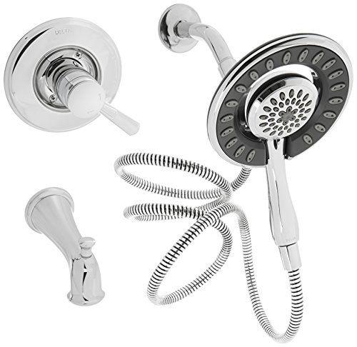delta faucet t17493 i linden monitor 17 series tub and shower trim rh pinterest com