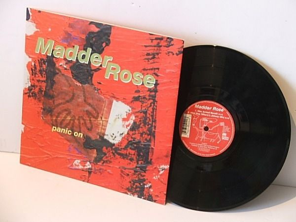 Madder Rose Panic On 10 Inch Ep Vinyl Record Shop 10 Things Panic
