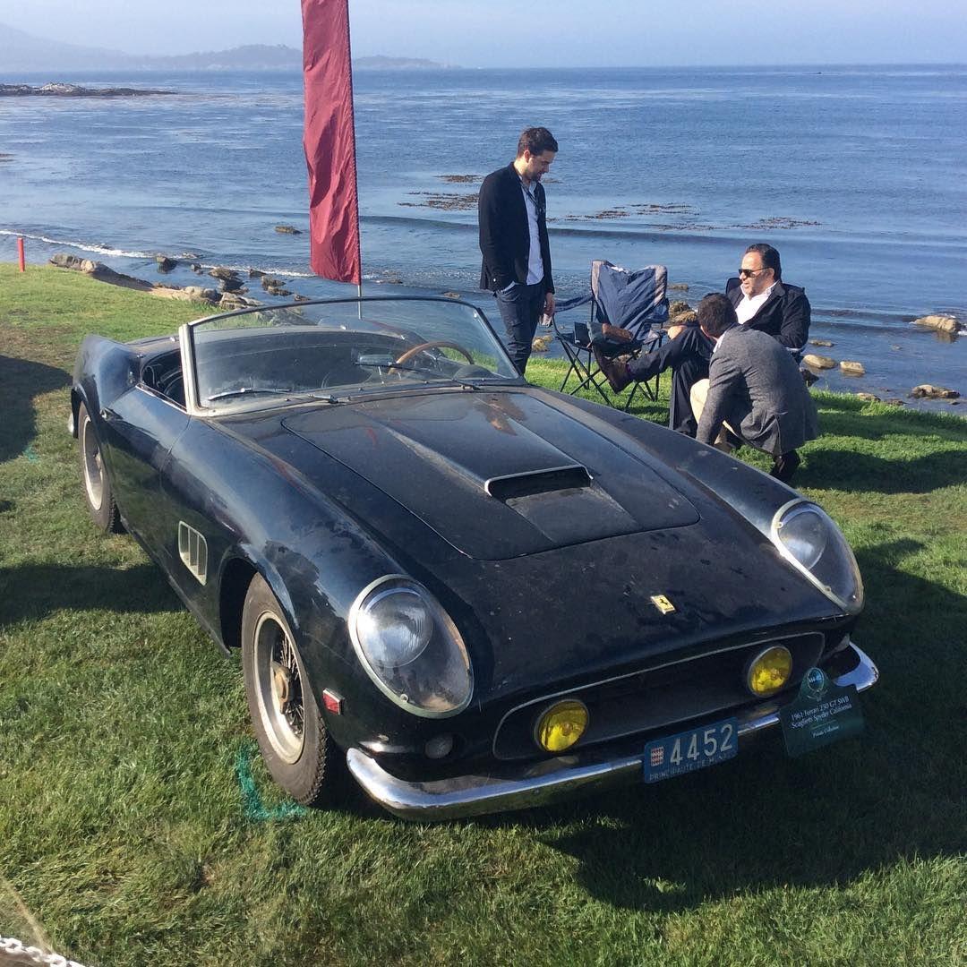 """""""Ferrari 250 California @pebblebeachconcours"""""""