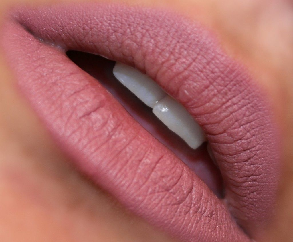Elf Studio Matte Lip Color In Tea Rose Review Pictures And