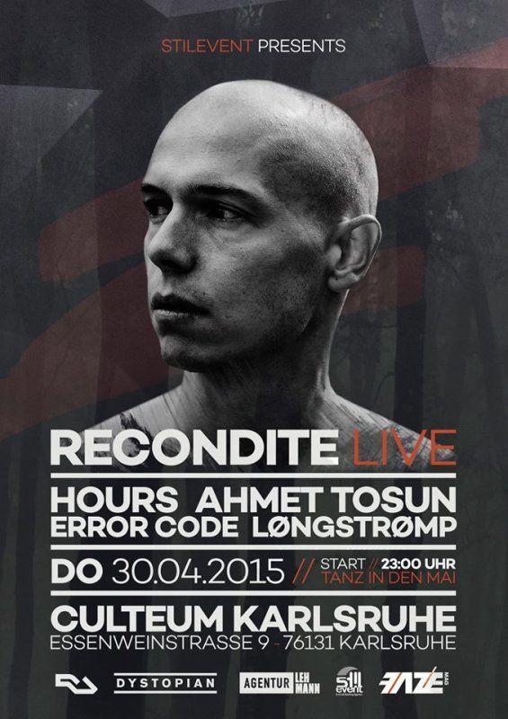 Recondite @ Culteum, Karlsruhe