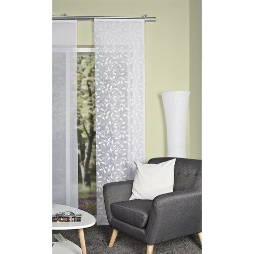 Messmer Sheer Single Panel Curtain 17 Stories In 2020 Panel Curtains Drapes Curtains Curtains