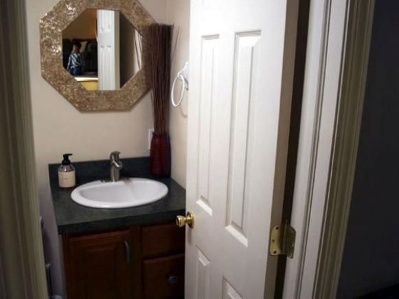 Full Bathroom Designs Entrancing Converting A Half Bath To A Full Bath  Half Baths Full Bath And Hgtv Decorating Design