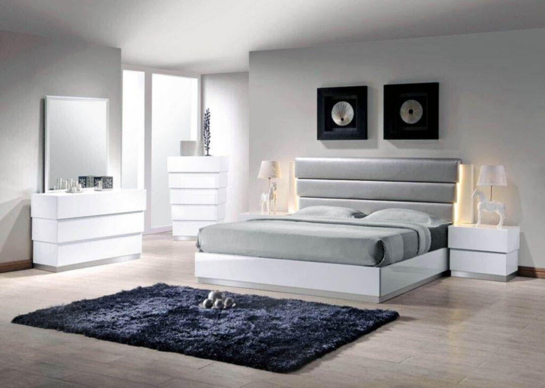Surprising White Queen Bedroom Set With Desk That Will Impress You Modern Guest Bedroom White Bedroom Set Creative Bedroom Decor