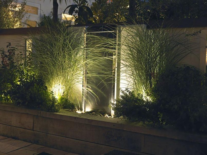 Backyard Patio Swing With Outdoor Wall Lighting Also Patio Sidewalk Slab  And Wall Lantern Besides Post