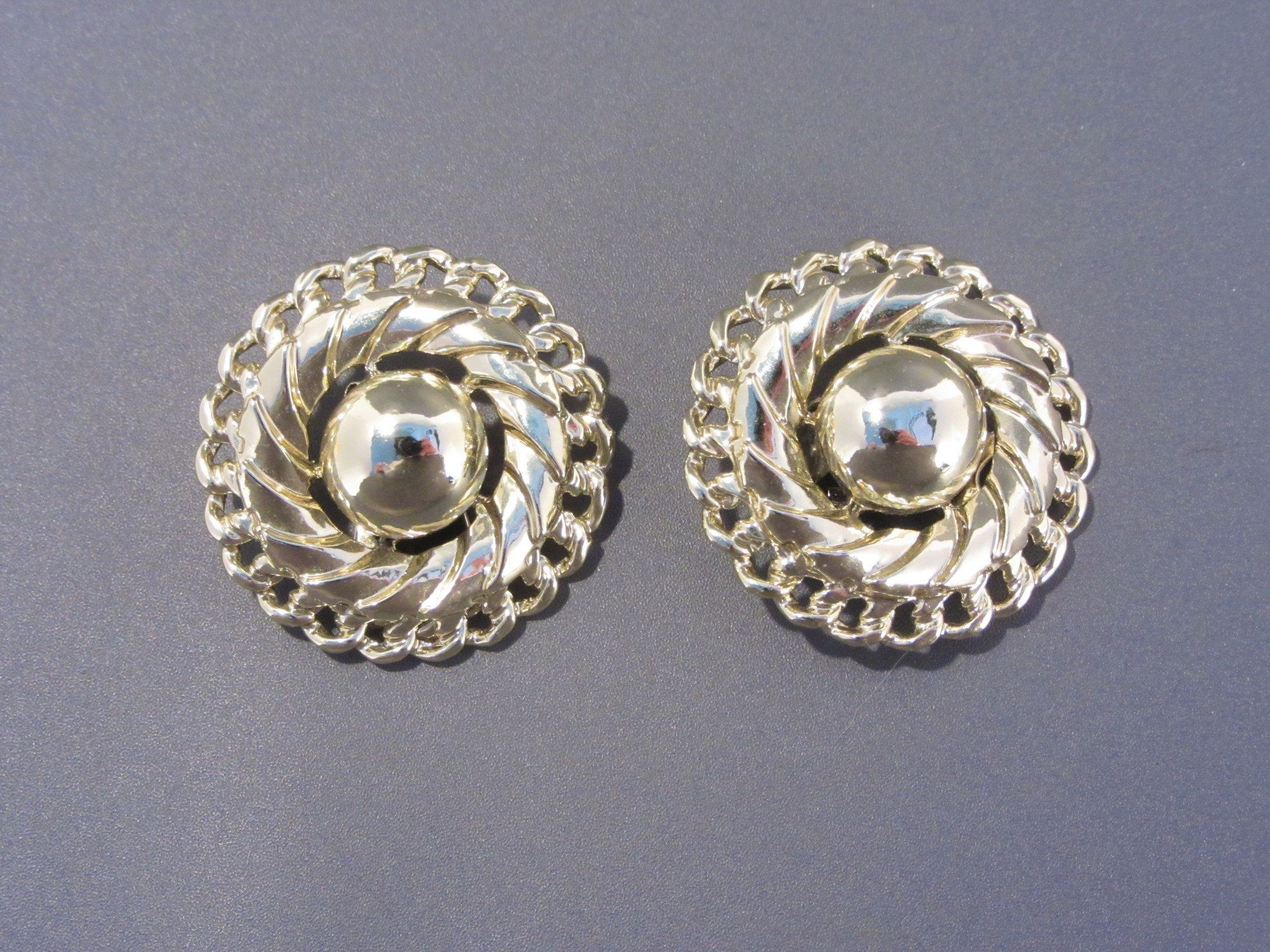 Classic Coro Brooch and Clip-On Earring Set