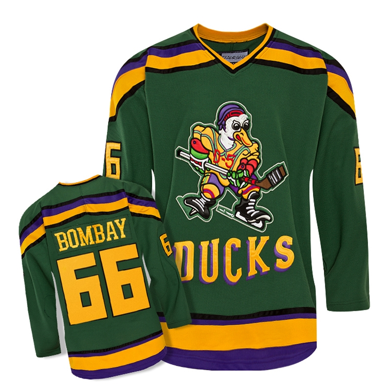 49.99$  Watch now - http://alis22.shopchina.info/1/go.php?t=32789635593 - TIM VAN STEENBERGE Mighty Ducks Movie Jersey #66 BOMBAY Hockey Jersey Stitched All Sewn-Green p01796 49.99$ #aliexpress