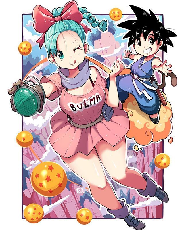Goku chi kid and chi