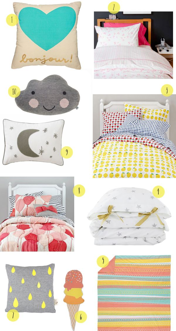 Cute Toddler Girl Bedding Round Up by Oh So Beautiful Paper