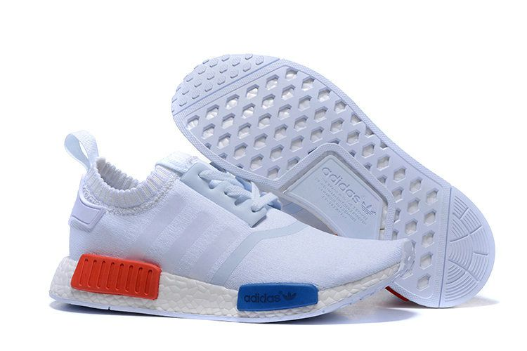 2018 New Arrival Adidas NMD Runner PK Boost S31522 White Red