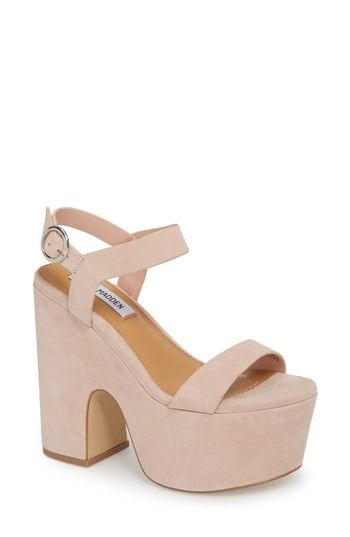 STEVEN by Steve Pointed Madden Womens Buena Leather Pointed Steve Toe Sand Suede Size 7.5 FP cf2a3d