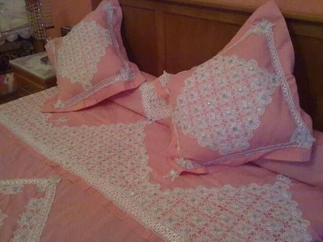 couvre lit crochet   Couvre lit, Modèles