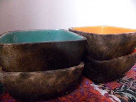 Cazuelas cuadradas esmaltadas y vajilla artesanal casa 798571 vajilla pinterest - Vajilla ceramica artesanal ...