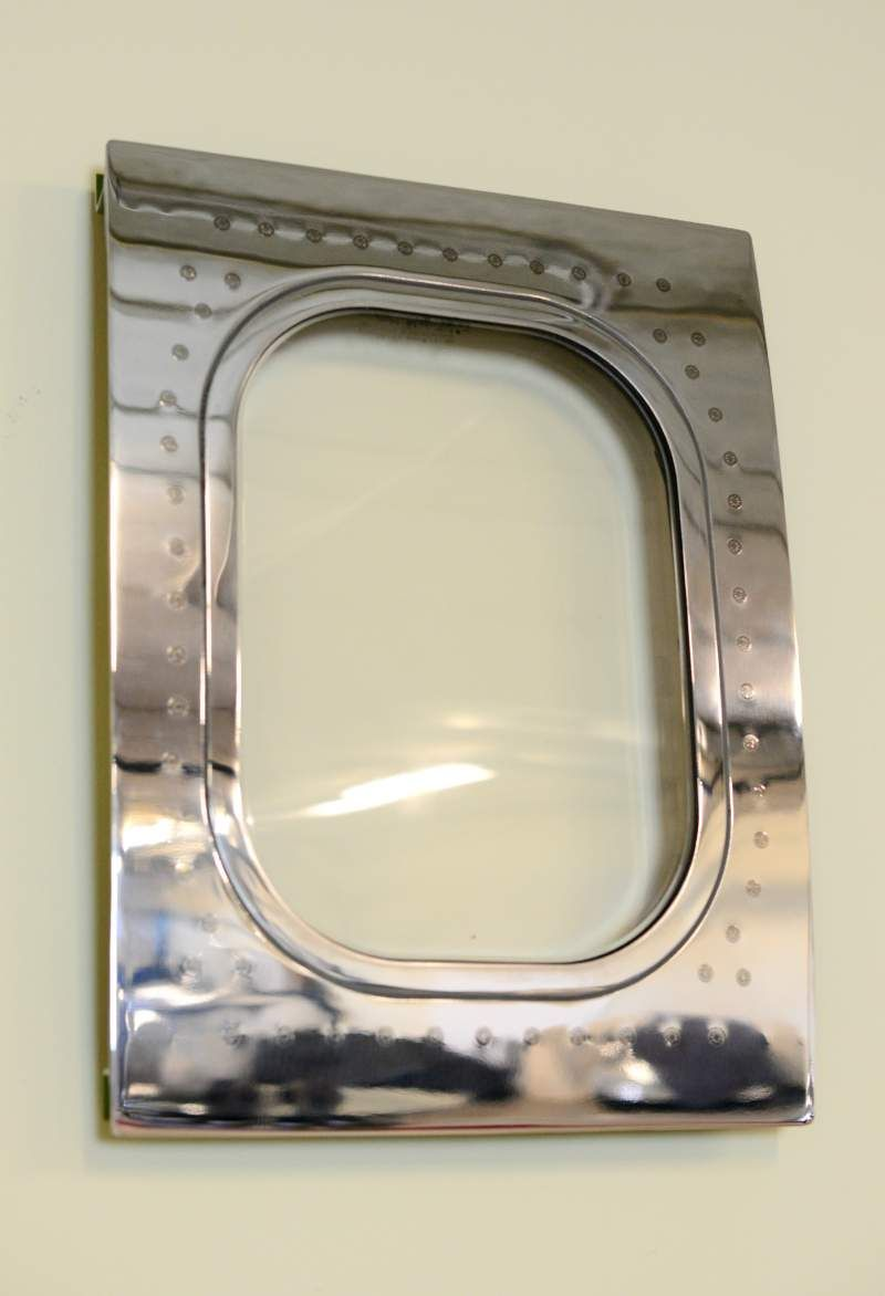 this airplane window was cut from a 767 and turned into a custom rh pinterest com