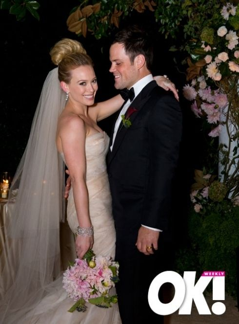 Hilary Duff Mike Comrie Wedding And