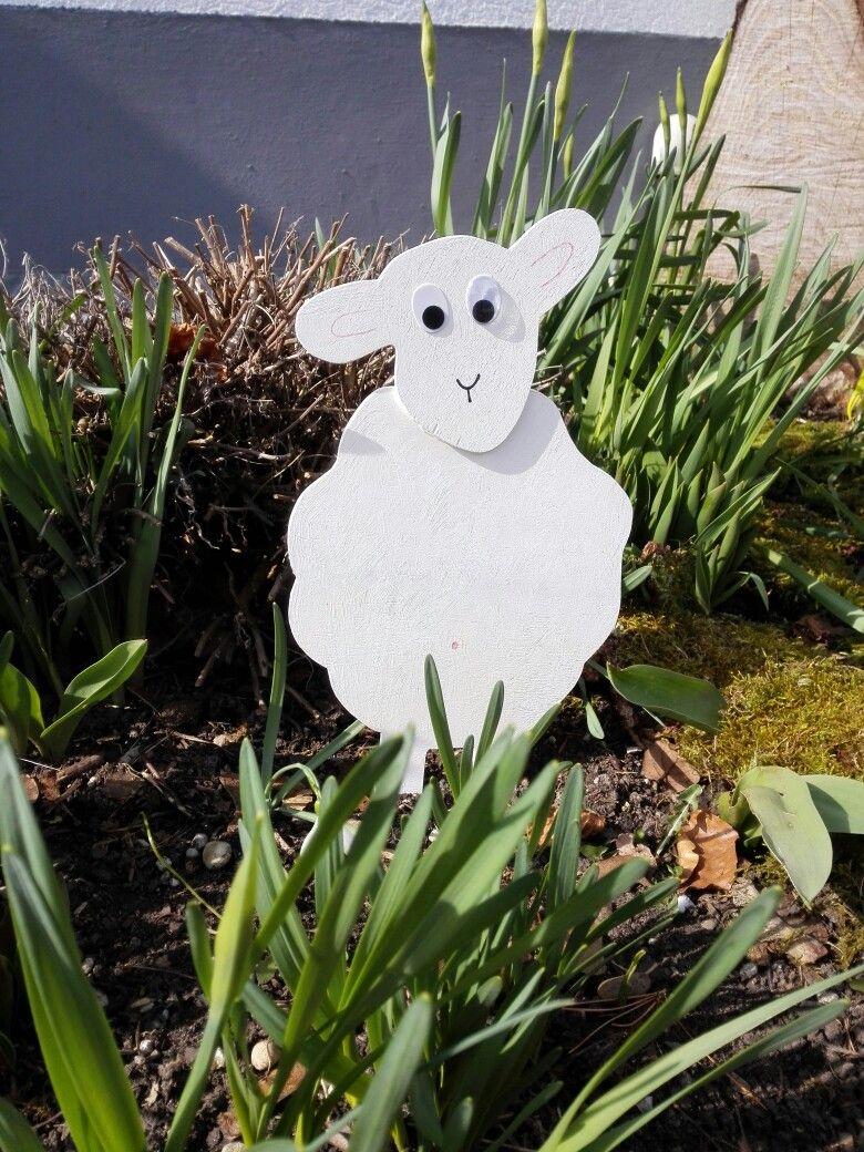 Ein Schaf Aus Holz Schafe Leimholz Holz