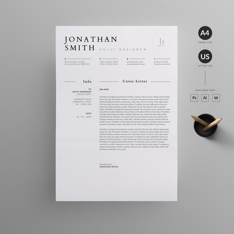 Resume/CV Resume cv, Resume, Letterhead design
