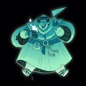 Hier ist der Harry Potter Character Design Challenge-Eintrag für diese Woche: The Hufflepuff House Ghost the Fat Friar. #harrypotter #harrypotterchar...