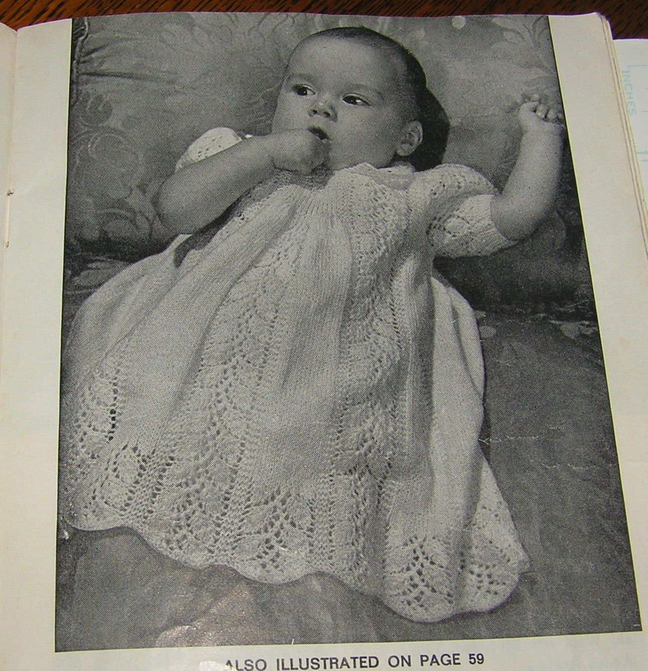 3 Vintage Knitting Pattern Baby Clothes Books Patons Layettes Shawls ...