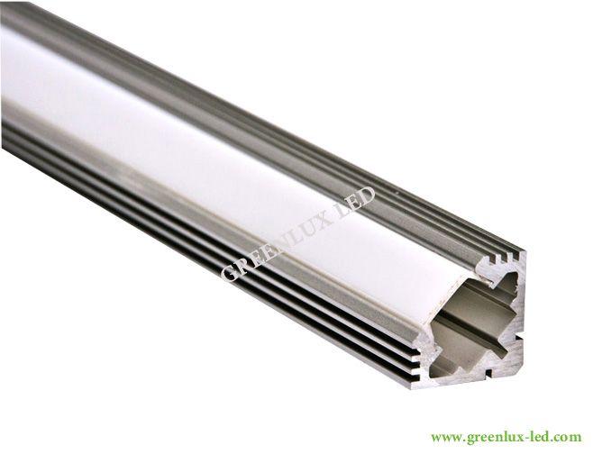 Pc Cover 6063 Led Profile Strip Light
