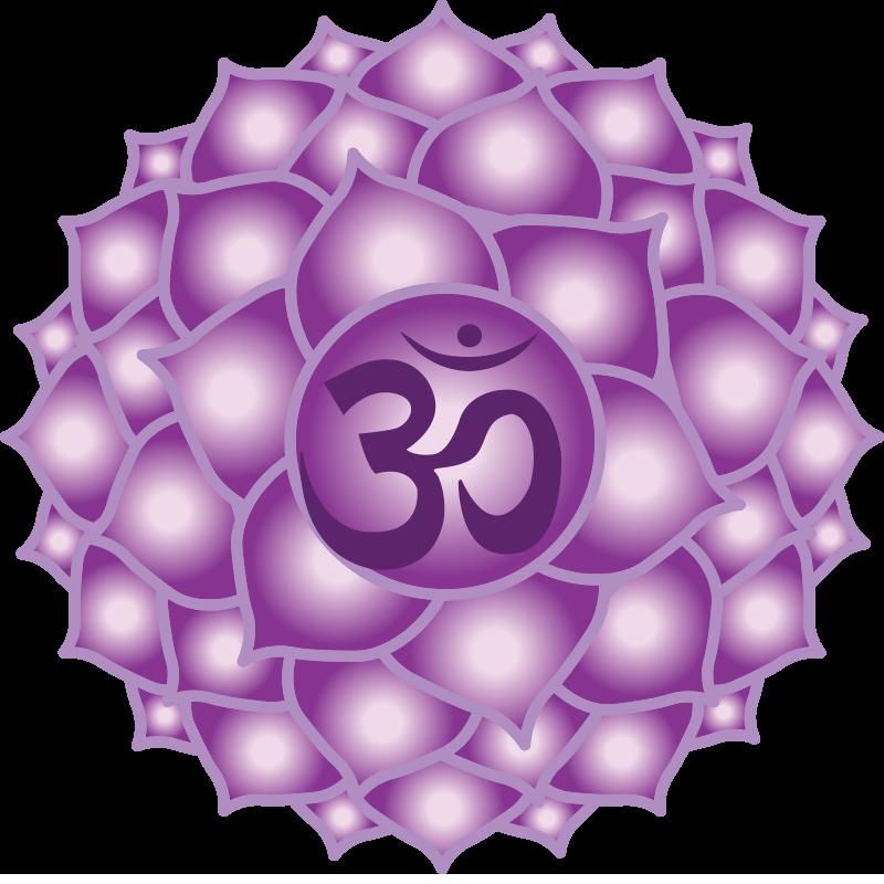 Crown Chakra Symbol 7th Chakra Sahasrara Chakra Pinterest