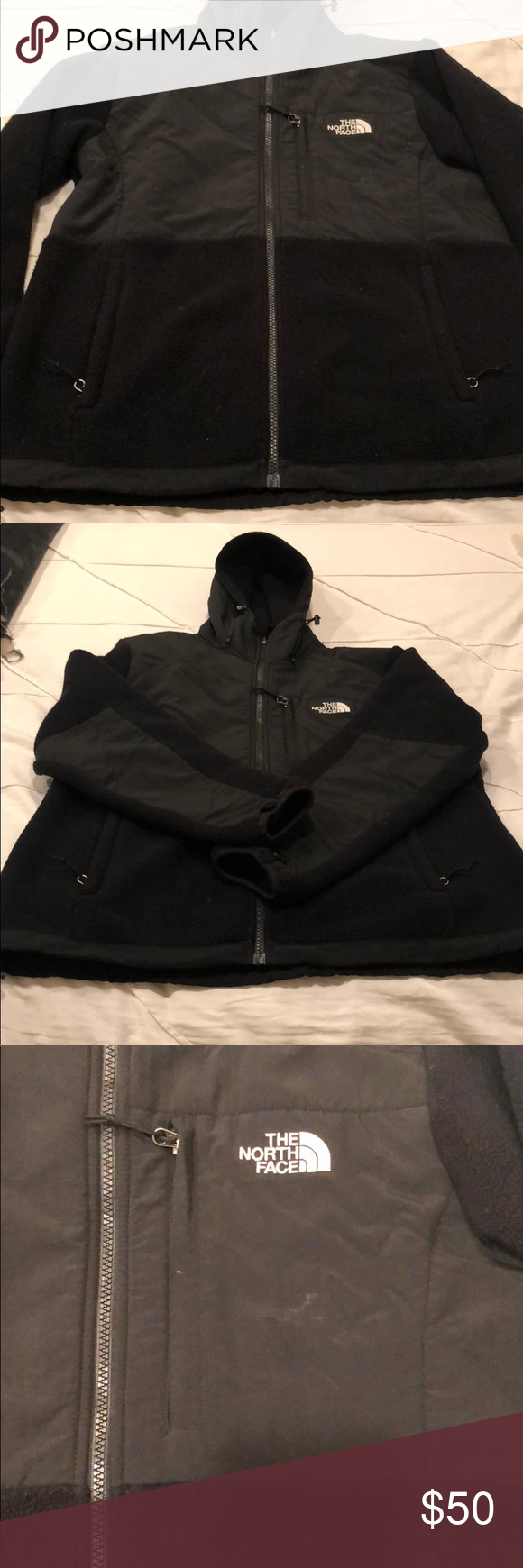 509cf2ad31 North Face Jacket North face jacket with a hood. Great shape! Size  L The North  Face Jackets   Coats