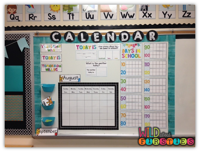 Setting Up Your Calendar! {and it\'s all FREE!} (Wild About Firsties ...