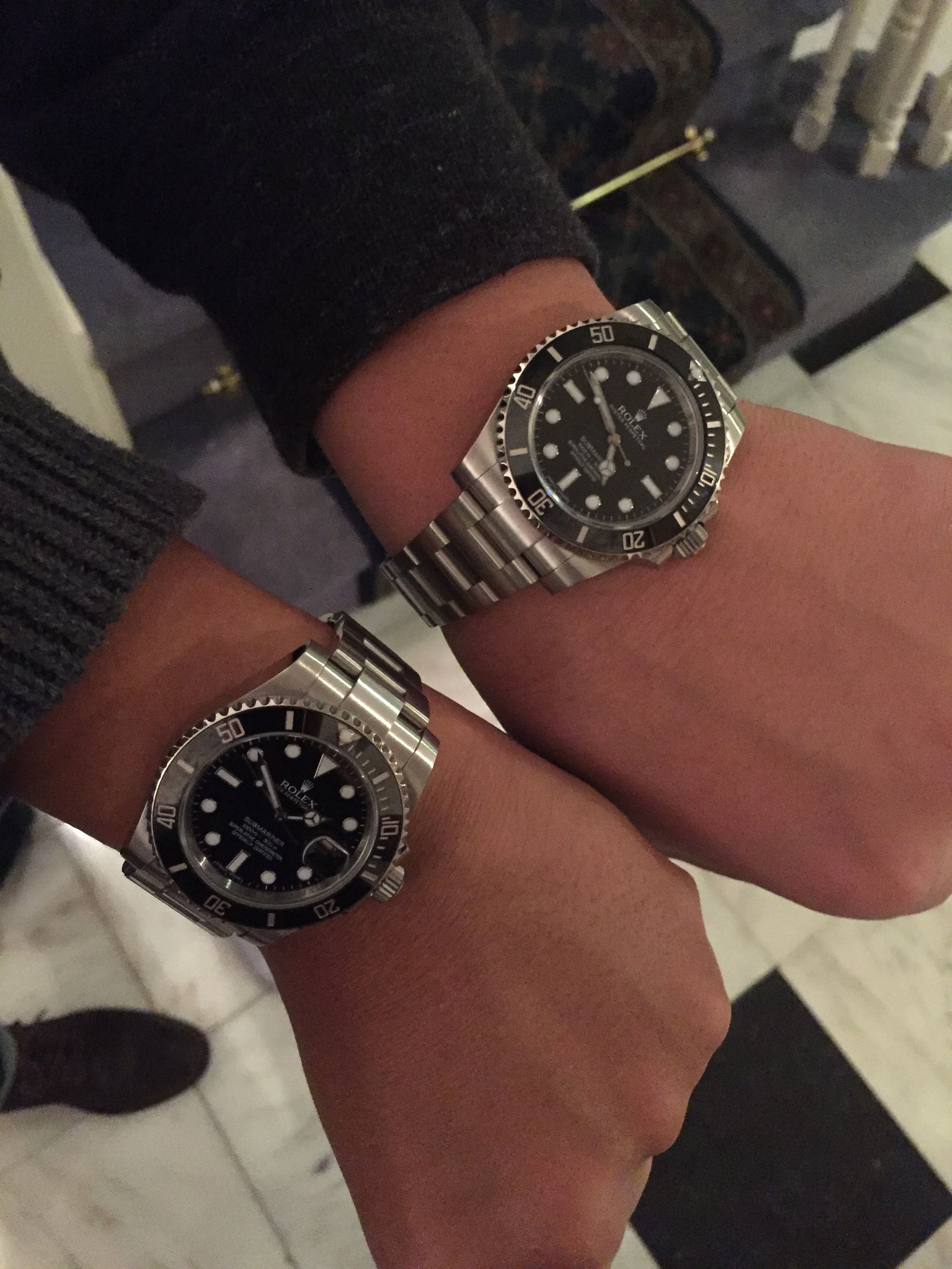 Sub C Date Vs No Rolex Watches Dating