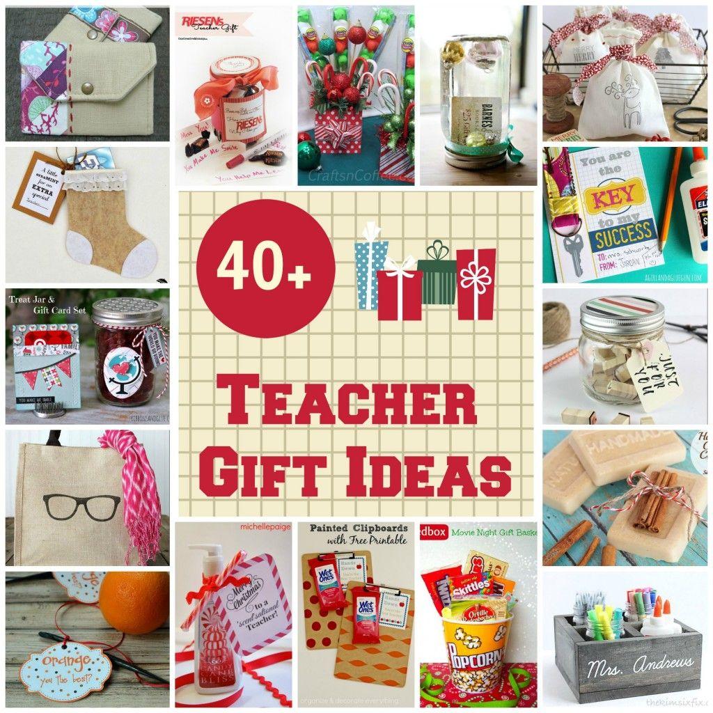 40 christmas gift ideas for teachers homemade gift ideas rh pinterest com