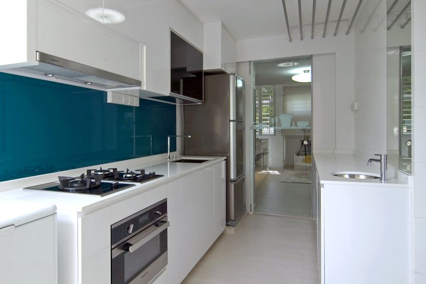 Singapore Kitchen Design Ideas Part - 18: 2b White Kitchen Teal Backsplash : A Stunning 3D Adaptation Of Architect  Bruno Erpicumu0027s Labacaho House · City ApartmentsSmall ...