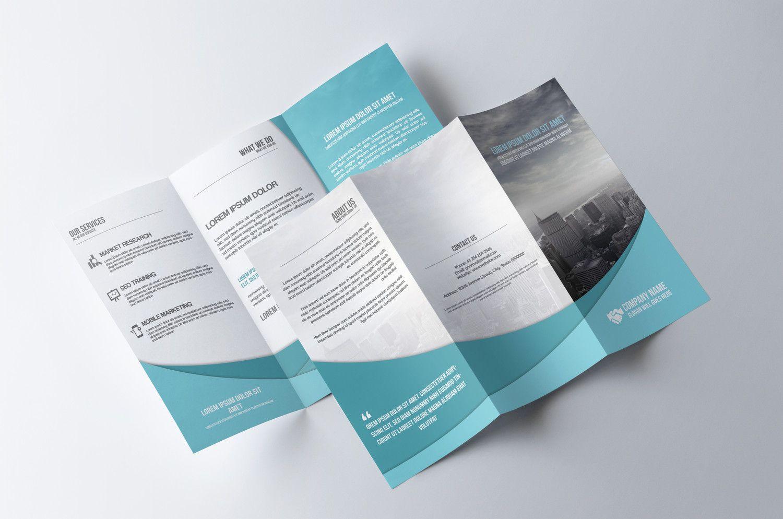 Professional TriFold Brochure Design By Nazmul  Envato Studio