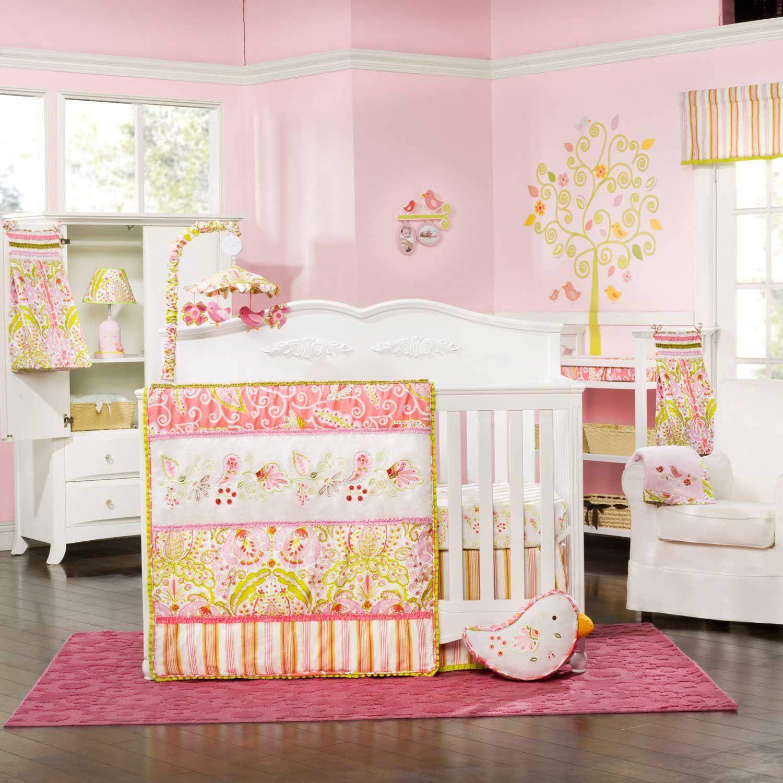 Amazon.com : Dena Moroccan Garden 4 Piece Crib Bedding Set : Home & Kitchen