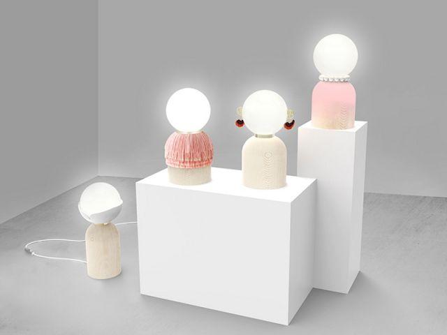 Trois designers fran§ais inventent le luminaire de demain