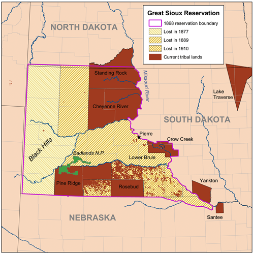 Siouxreservationmap - Great Sioux Reservation - Wikipedia, the free encyclopedia