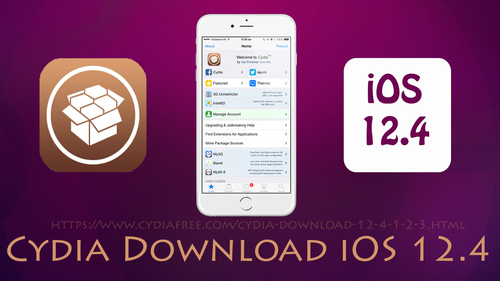 Cydia download ios 124 has the latest thirdparty apps