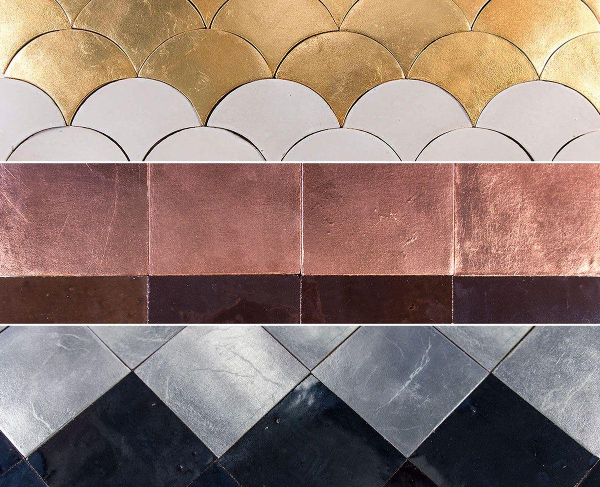 Mosaic Sur mettalic colours mosaic sur sisustus decoration