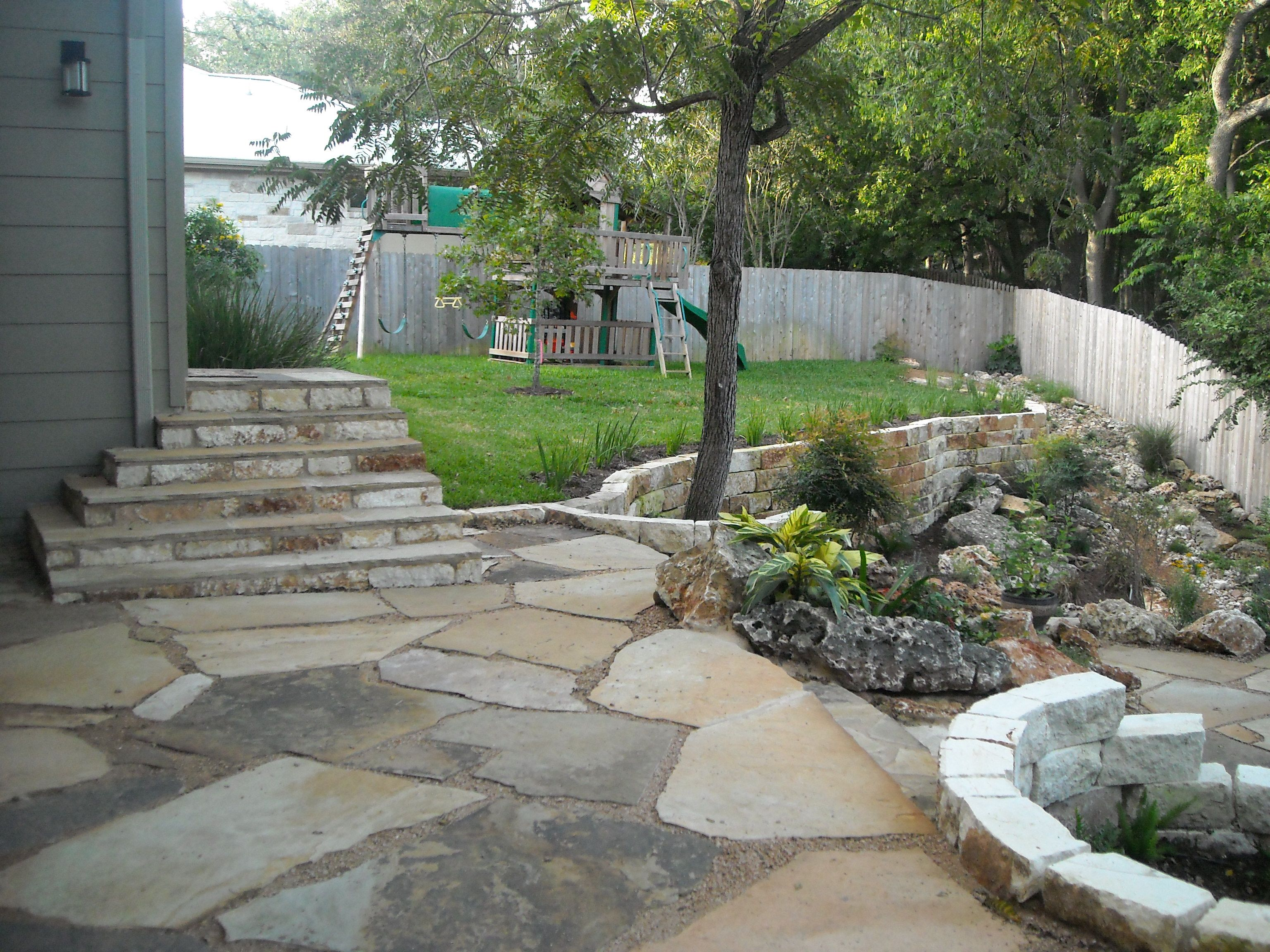 everything is here flagstone patio stairs retaining walls